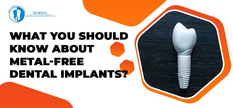 Zirconia Dental Implants | Metal-free Dental Implants